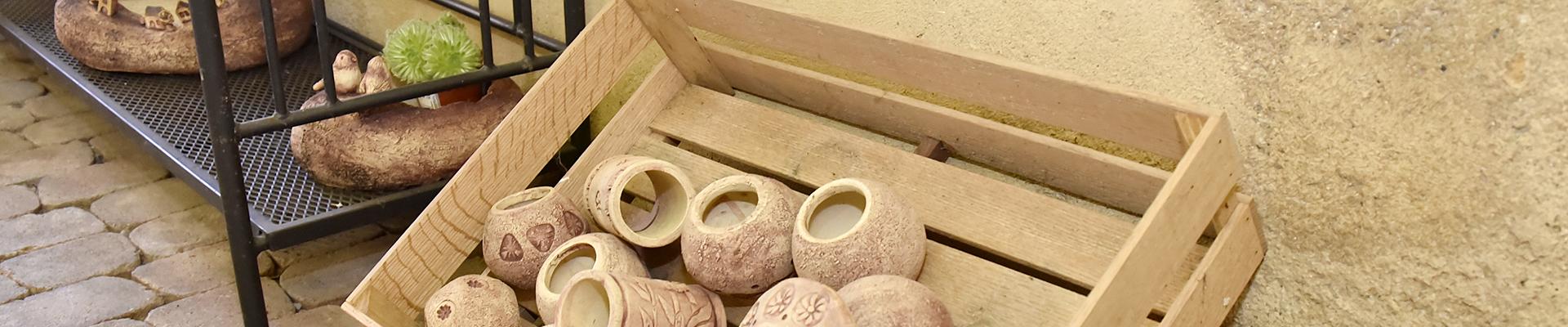 Selský dvůr - keramická dílna