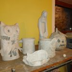 Výrobky z keramické dílny
