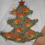 Stromek | Výrobky z výtvarné dílny | Výrobky ze sena
